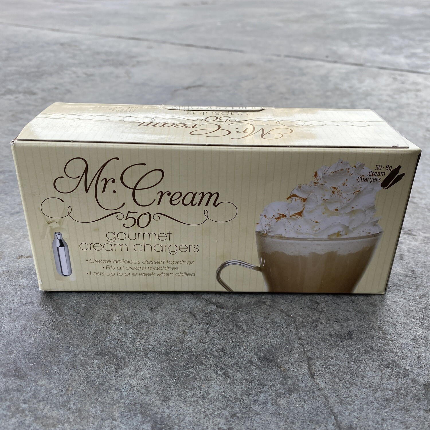 Whipped Cream Chargers 50ct