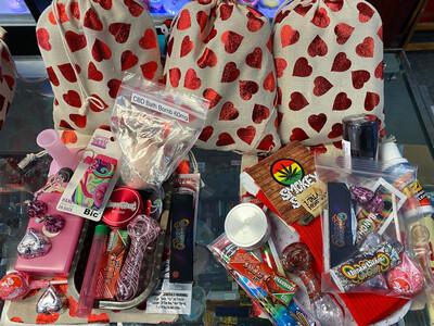 Valentine's Day Smokers Gift Set/ Grab Bag $50