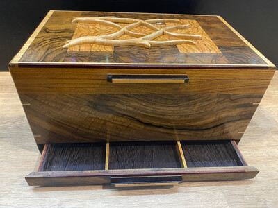Artisanal Exotic Wood Humidor