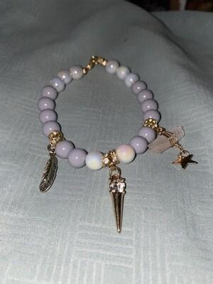 Light Purple Lightening Power Bracelet