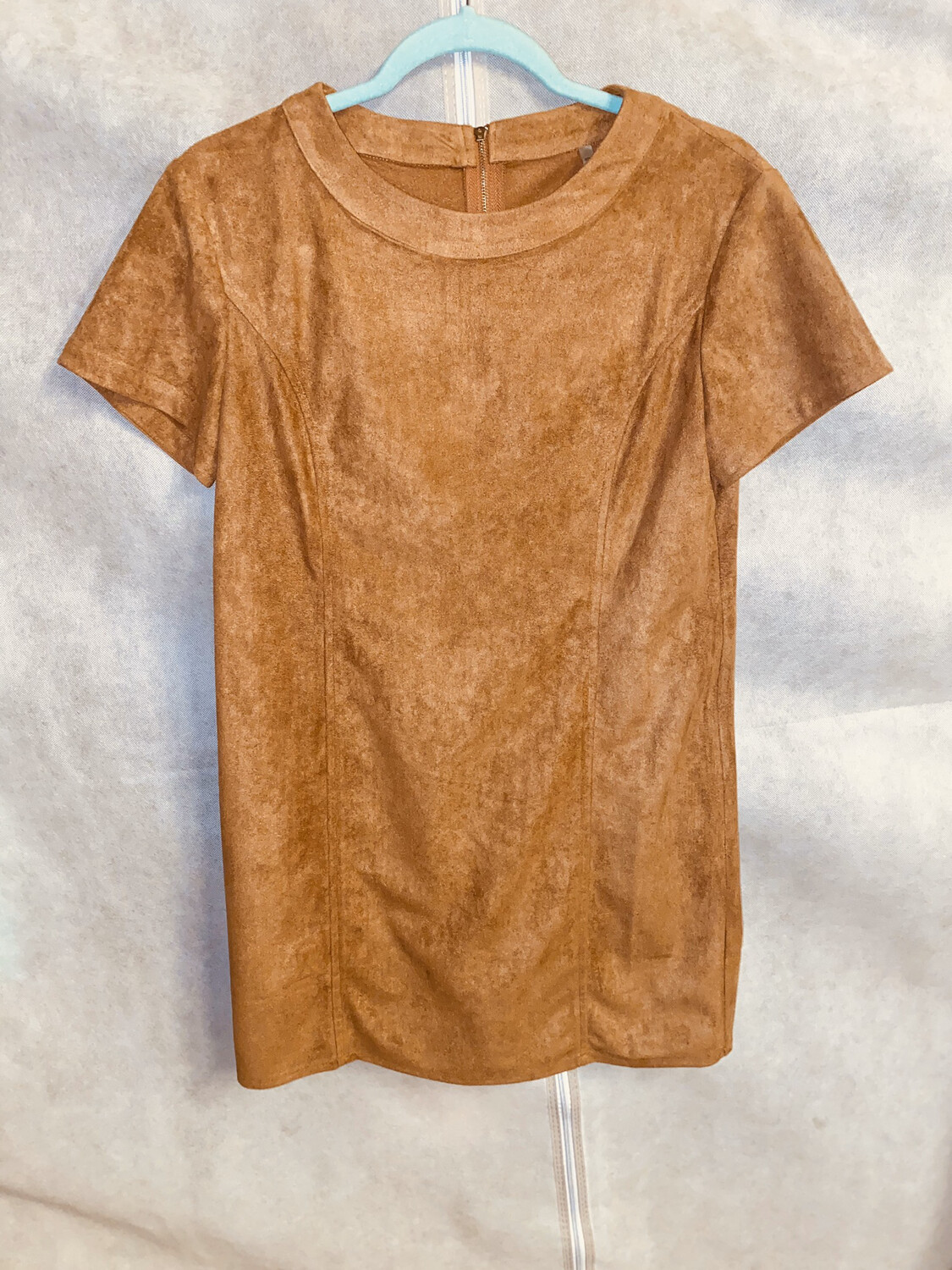 Pur-Suede Mini Dress