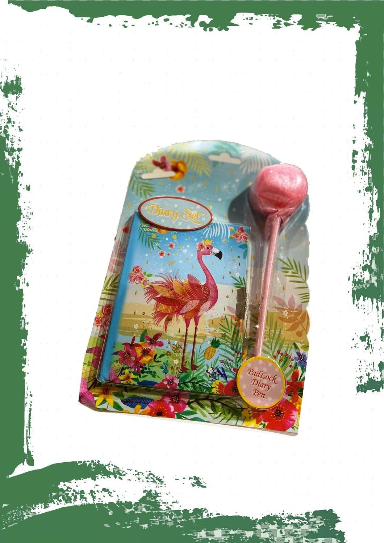 Notebook Flamingo - نوت بوك فلامنجو + قفل