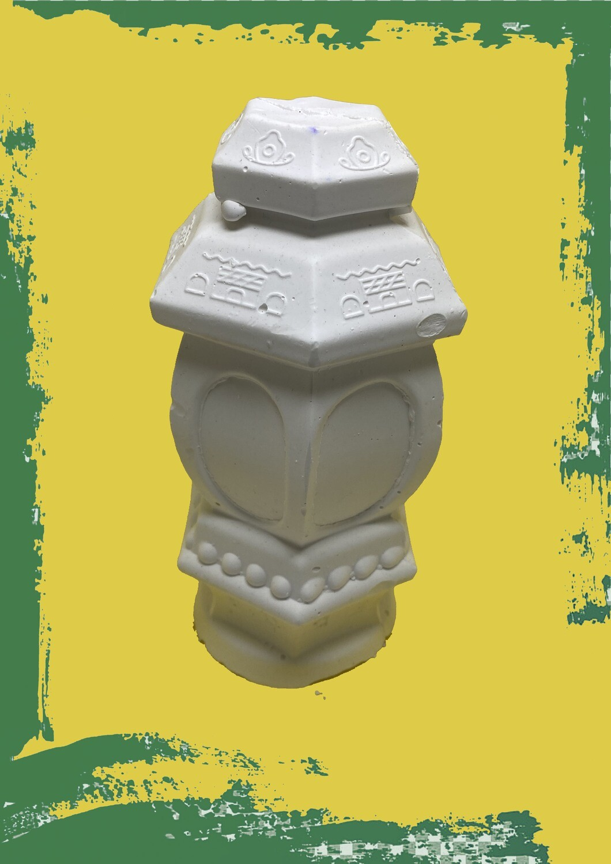 Ramadan Lantern 3D for coloring - فانوس رمضان جبس مجسم للتلوين