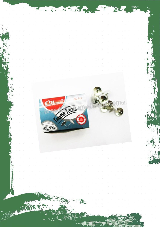 Silver pins (10 per box) - دبابيس سبورة فضي