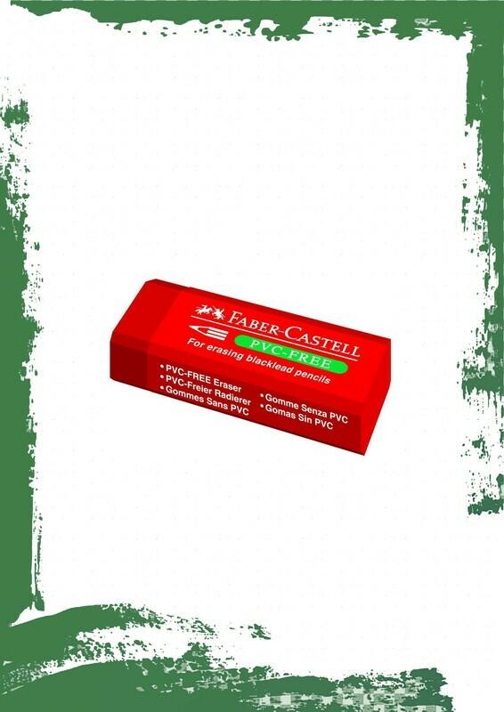 Faber-Castell red eraser