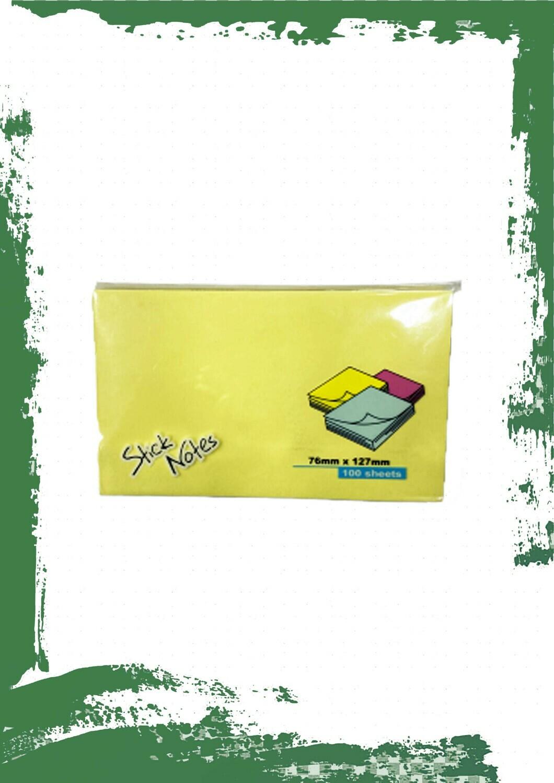sticky note 76mm*127mm