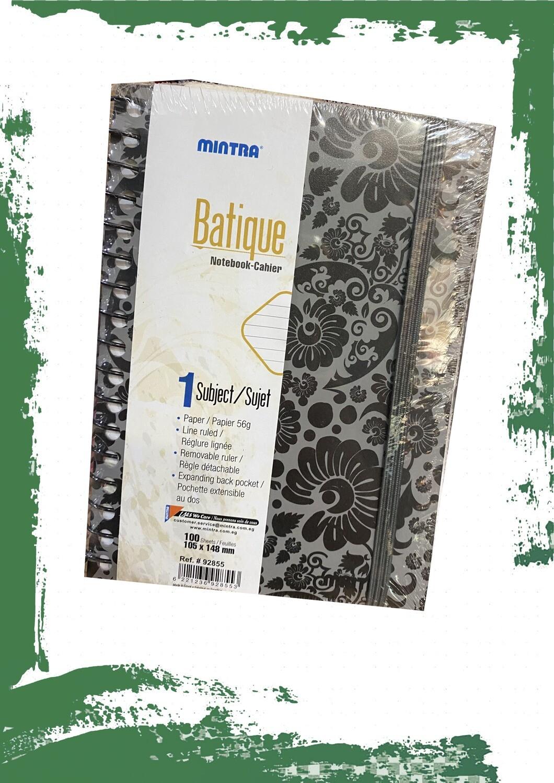 Notebook with elastic band Batique  - نوته بأستيك باتيك