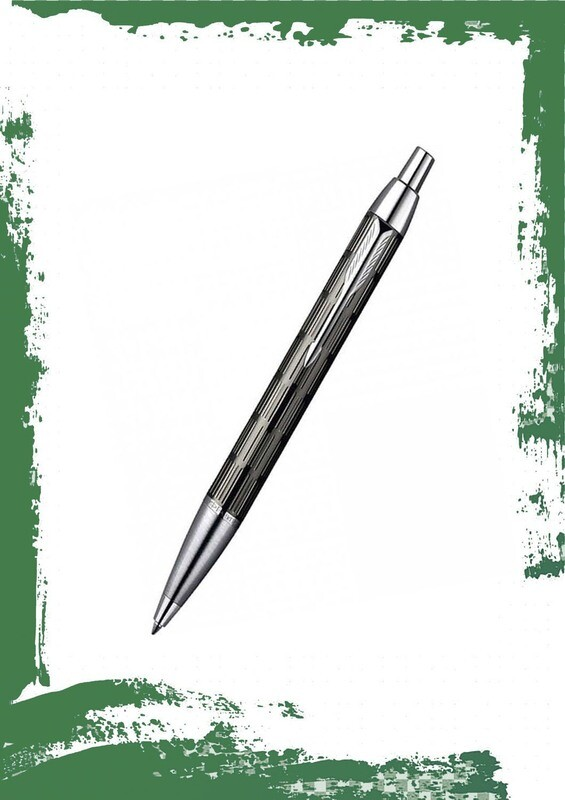 قلم باركر  معدن لميع منقوش CTجاف بريميوم.