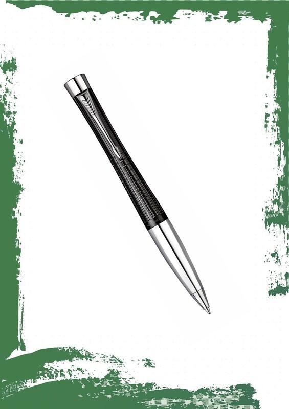 قلم باركر جاف اسود ابانوس CT اوربان بريميام
