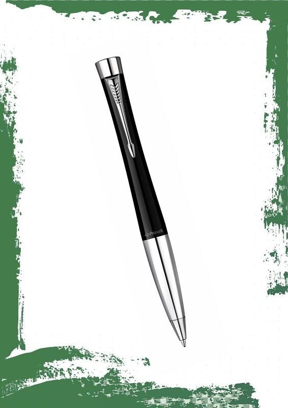 قلم باركر جاف اسود لميع CT اوربان