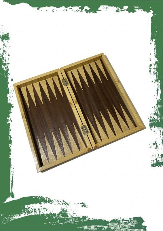 طاولة + رقعة شطرنج خشب سويد 49*26 سم