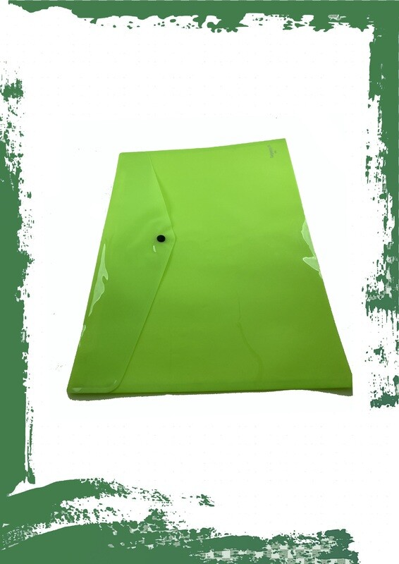 Plastic envelope A3 size -  فايل كبسونة بلاستيك A3