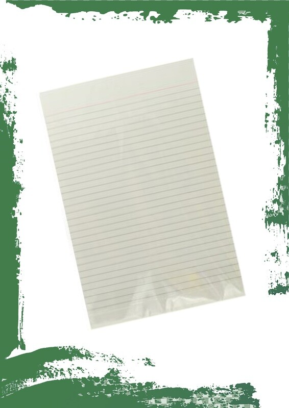 lined A4 paper (pack of 100 papers) - رزمة ورق فلوسكاب مسطر مفرد 100 ورقة