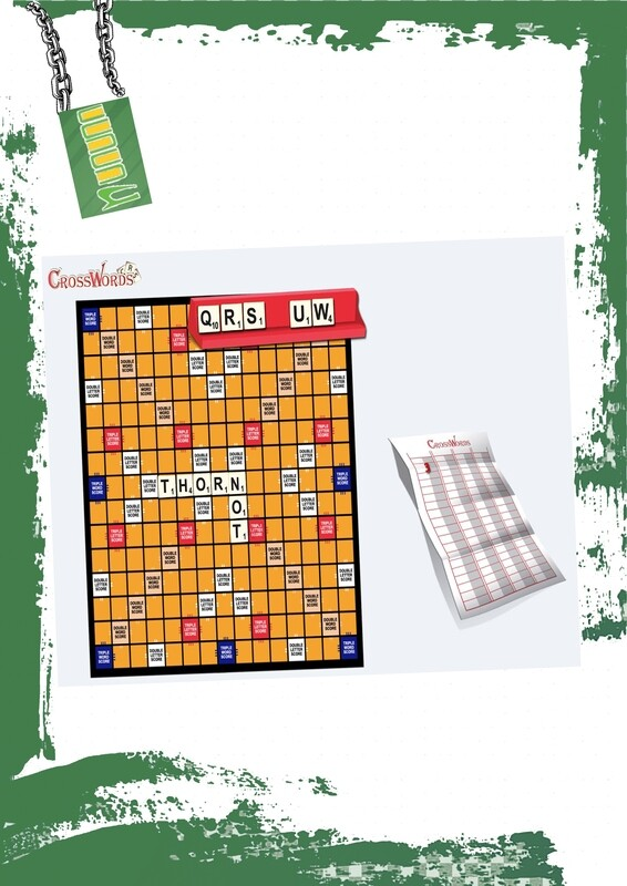 Cross words game - لعبة كلمات متقاطعة بالعربي