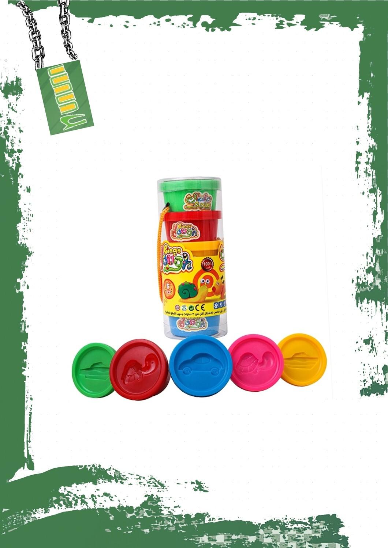 Bingo Dough PVC 5 Mini Can - صلصال بينجو 5 علب صغيره