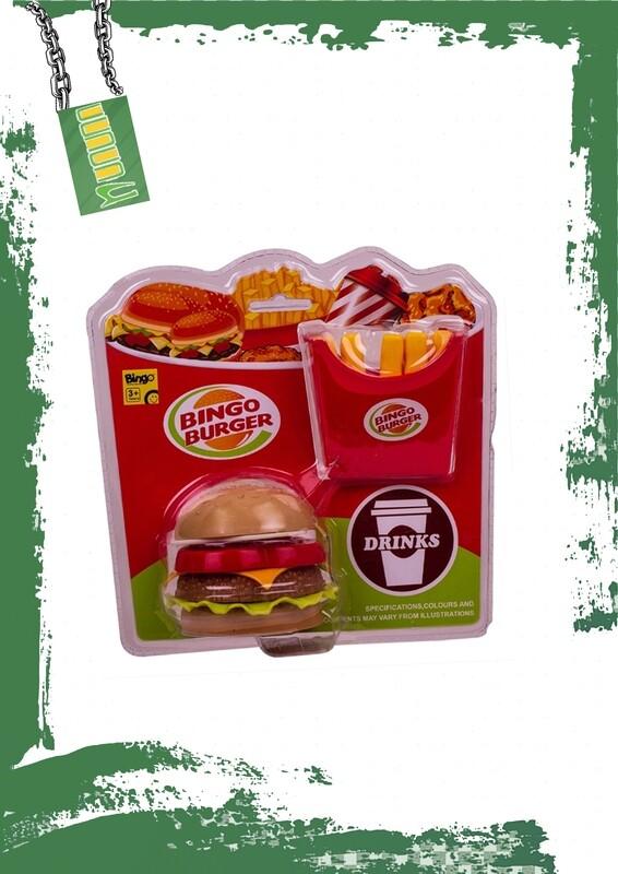Bingo Burger assembling - بينجو برجر قطع للفك والتركيب