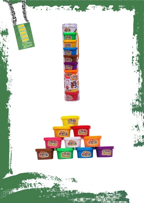 Bingo Dough 10 Mini Cans - صلصال بينجو 10 علب صغيره