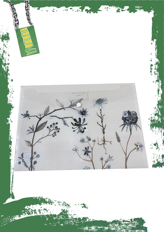 Plastic envelope A4 size - فايل كبسونه بلاستيك مقاس A4