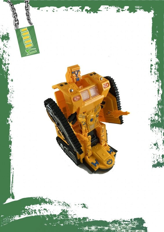 Transformers Loader car - لعبة لودر المتحولون