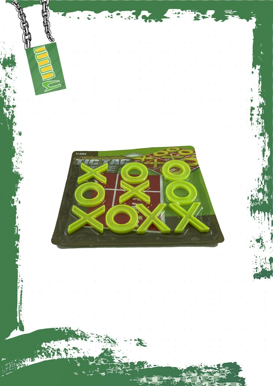 Tic Tac Toe plastic game - لعبة XO
