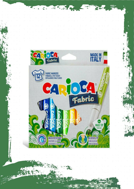Carioca FABRIC MAXI 12 PCS