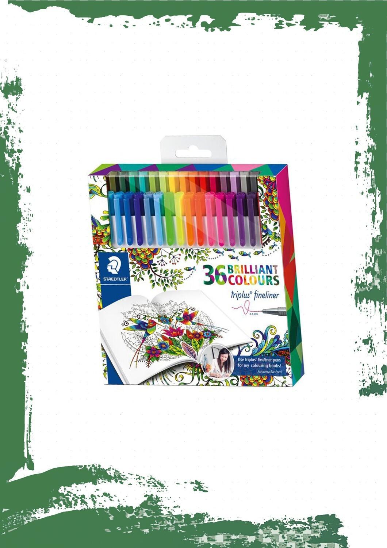 triplus fineliner 36 colors