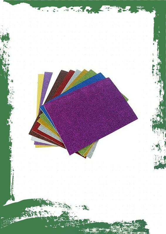 glitter foam paper size A4 - فوم جليتر مقاس A4