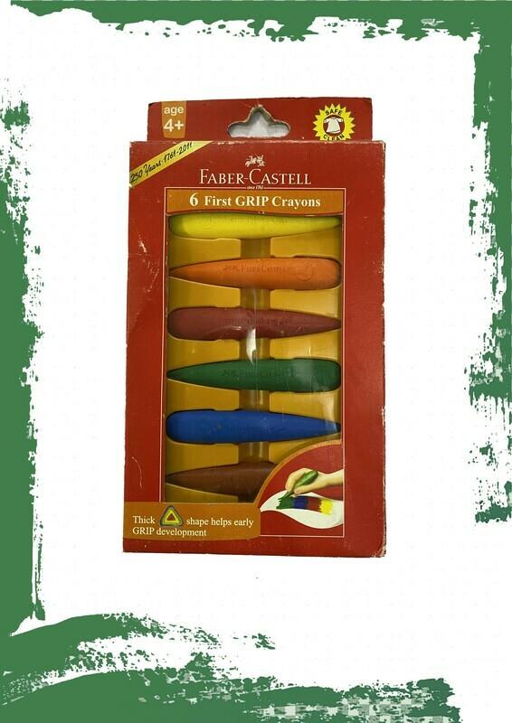 Fabercastle Wax colors - ألوان شمع سهلة المسك للأطفال