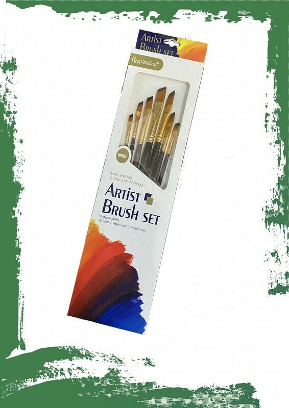 Artist brush set - طقم فرشاة تلوين