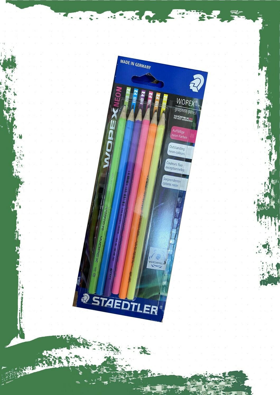 Staedtler Wopex pencil set (6 pencils) - طقم أقلام رصاص وبيكس 6 أقلام