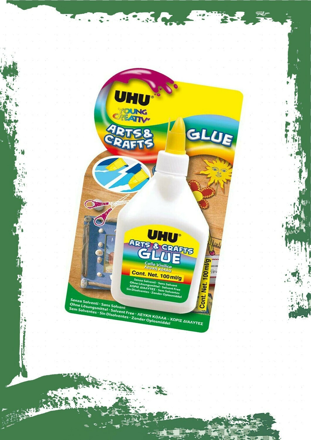 UHU White Glue - غراء أبيض أوهو