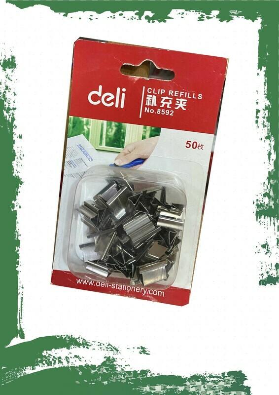 Deli Clip refill - دبابيس كليبس للورق