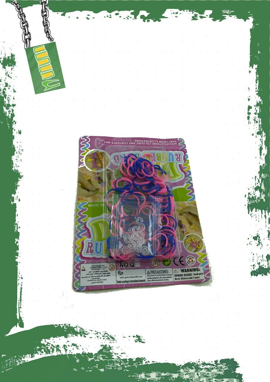 LOOM BANDS - مجموعة استيك ملونة للأشغال