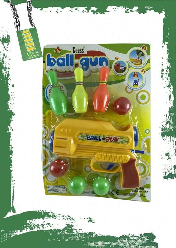 PLASTIC BALLS GUN - لعبة مسدس كور بلاستيك