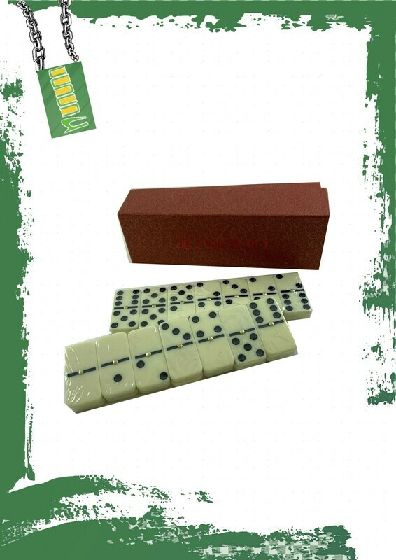 Small Dominoes set - لعبة دومينو صغيره بعلبه كرتون