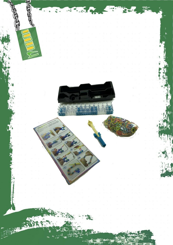 Loom band set - لعبة لوم باند استيك ملون