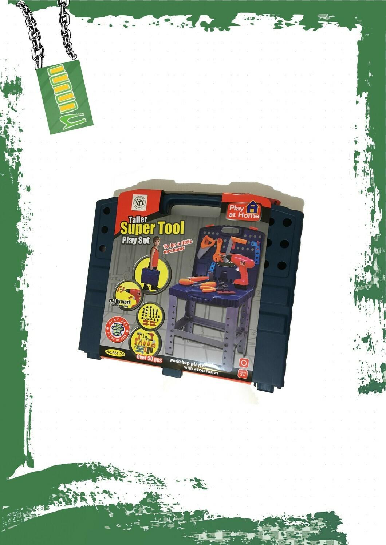 Super tools set - شنطة عده نجار 50 قطعة