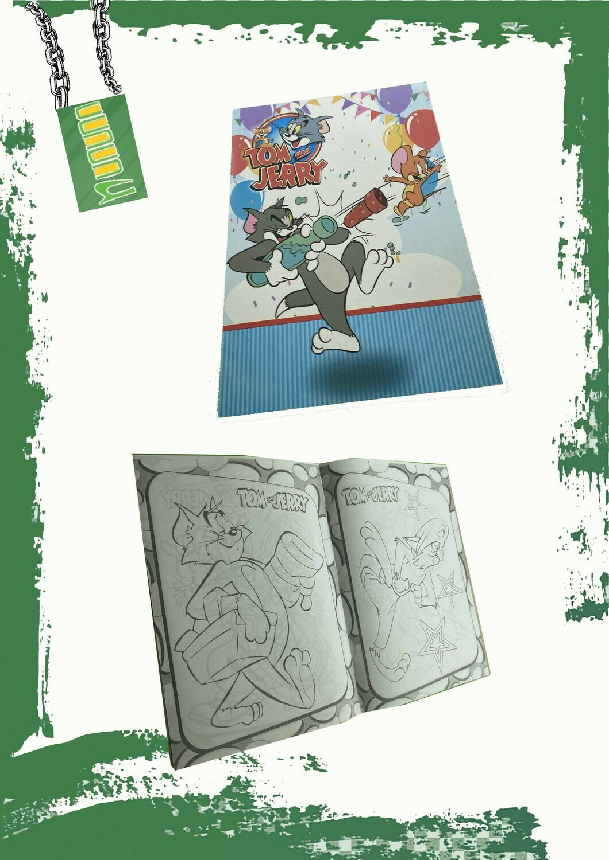 Kids coloring book A5 - كتاب تلوين للأطفال مقاس A5