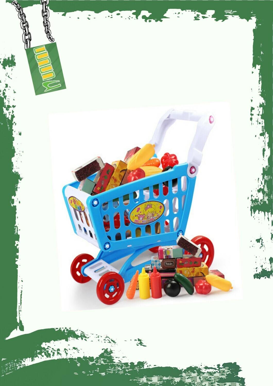 Happy shopping cart - تروللي تسوق لعبة