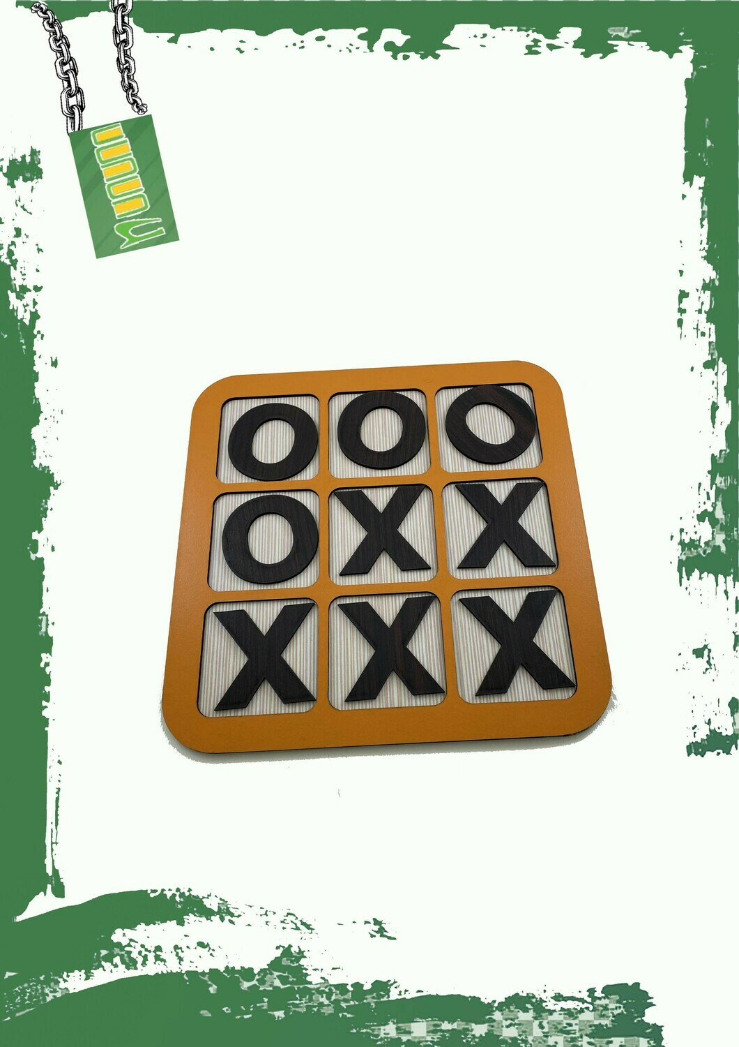 TIC TAC TOE Wooden game - لعبة إكس أو خشب