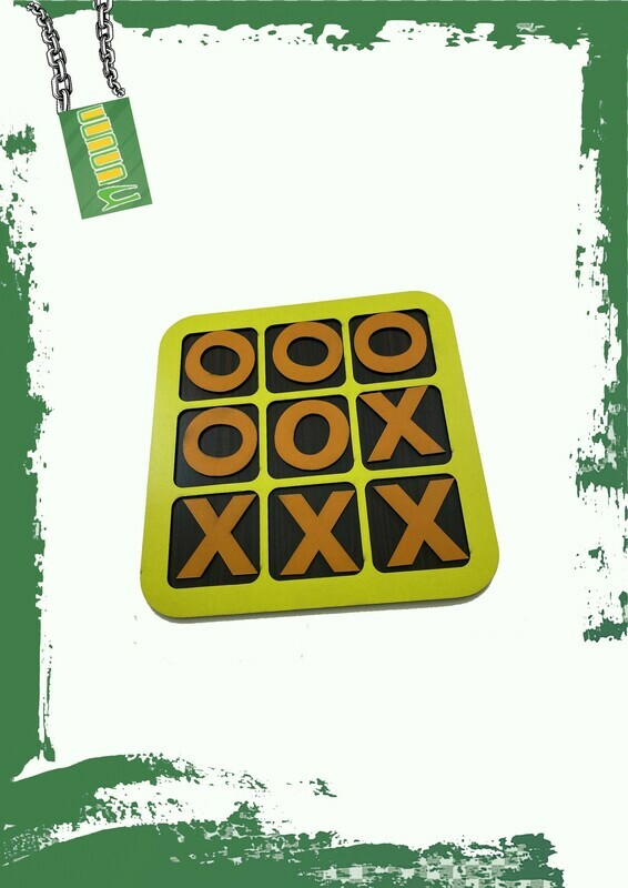 TIC TAC TOE Wooden game - لعبة إكس أو خشب
