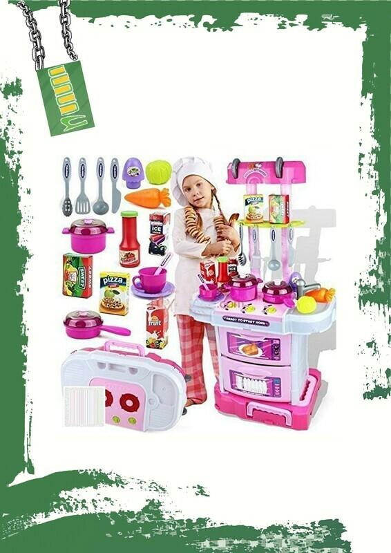 Kitchen set + music - طقم مطبخ + موسيقى