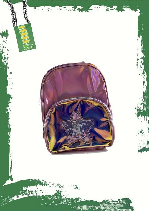 Metallic backpack - شنطه ظهر ميتاليك