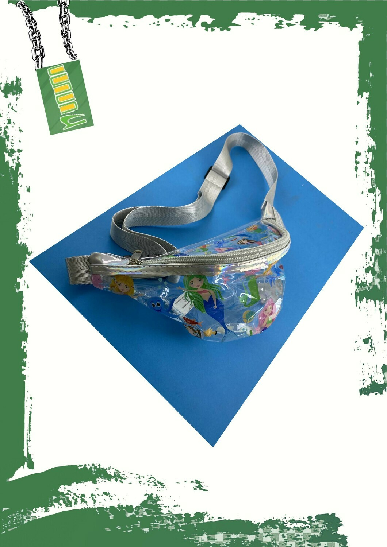 Transparent waist bag - شنطه وسط شفافه