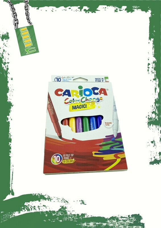 Carioca 10 magic colors - كاريوكا 10 لون سحري
