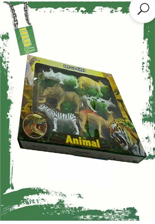 Wild Animals set - طقم حيوانات الغابه