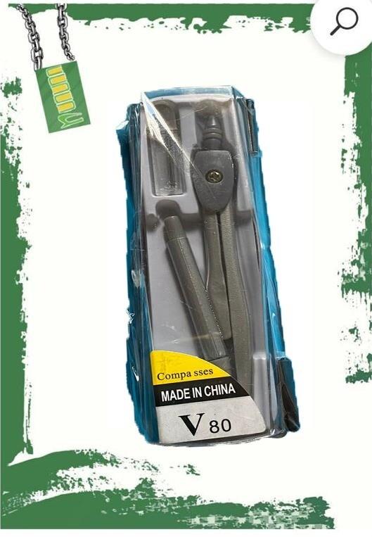 برجل + قلم سنون 0.7 ملم + علبة بلاستيك