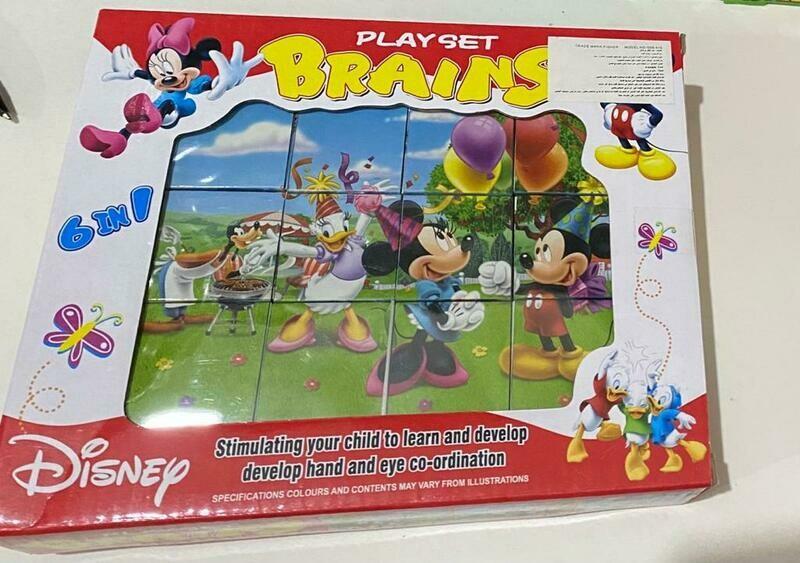 3D Puzzle 12 Pcs
