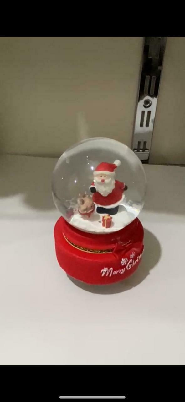 بلوره كريسماس بابا نويل وسط بزمبلك   + موسيقى