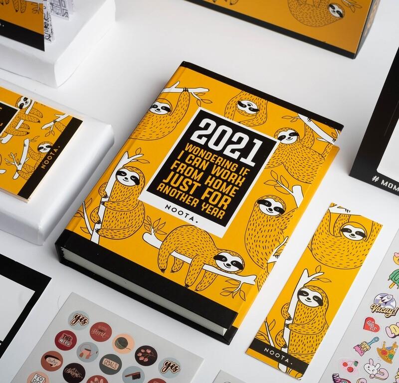 بوكس نوته 2021 أجنده العام الجديد